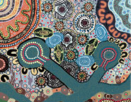 Luke Penrith's painting River of Knowledge