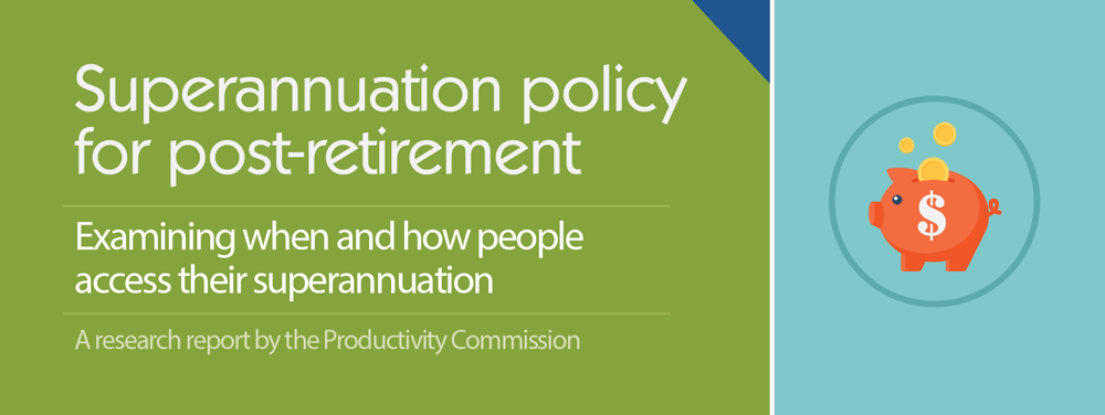 Superannuation policy for post-retirement infographic 1.