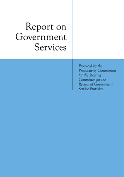 Report on Government Services cover