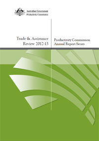 Trade and Assistance Review cover